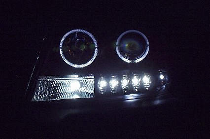 Halo Ring Headlights